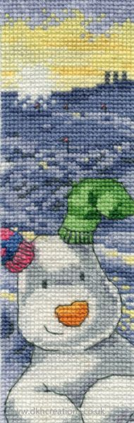 The Snowman And Snowdog The Snowdog Bookmark Cross Stitch Kit
